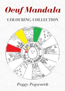 Oeuf Mandala Colouring Book