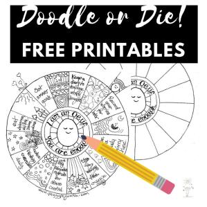 Doodle or Die free printables