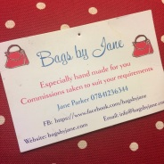 Bags by Jane business card