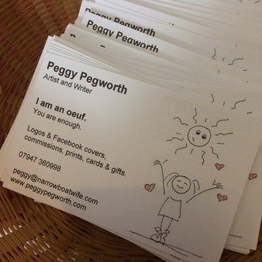 Peggy Pegworth Business Cards