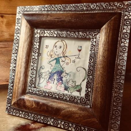 Lina framed