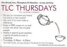 TLC Thursdays leaflet