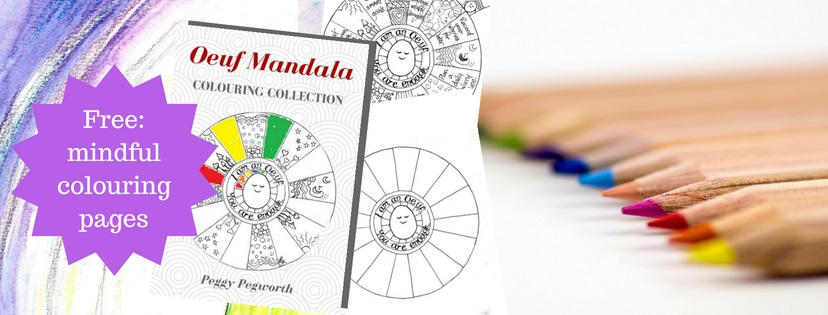 Free mindful colouring pages