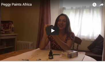 Peggy Paints Africa