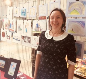 Peggys First Art Exhibition SQUARE